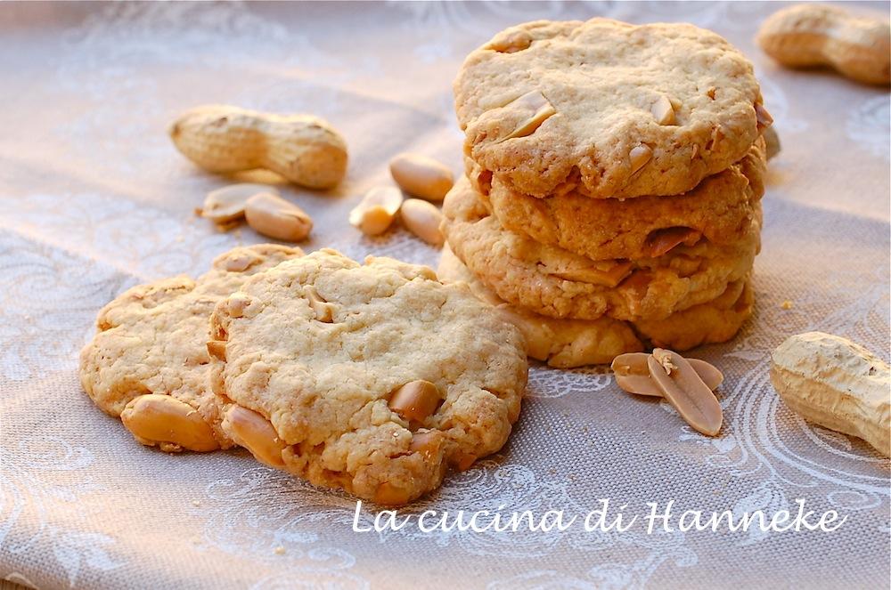 biscotti con le arachidi