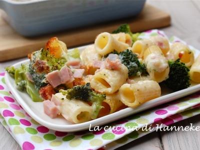 pasta gratinata con broccoli