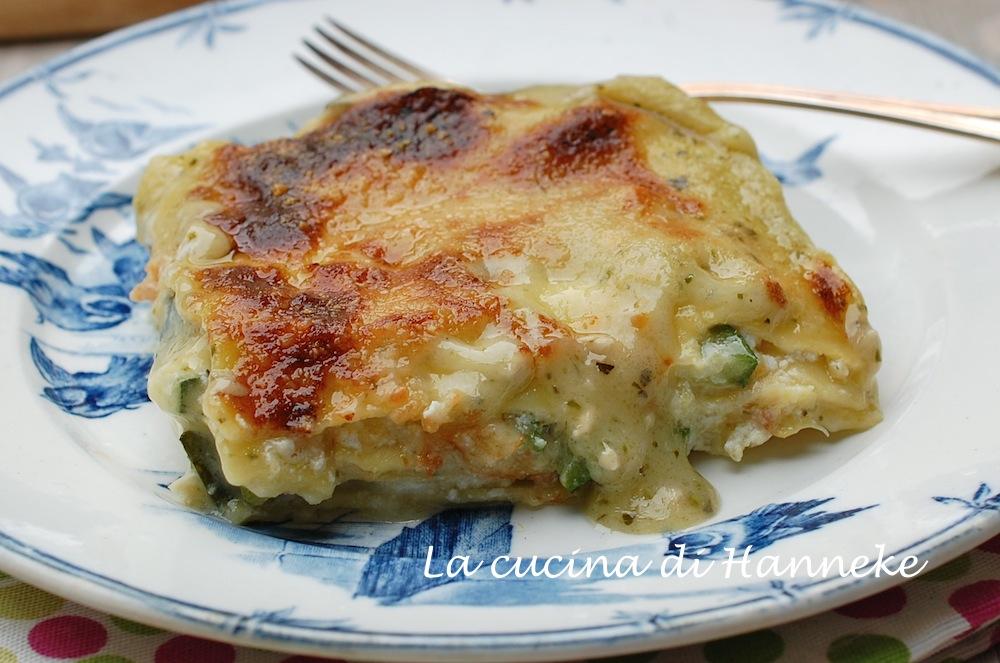 Le carnet de recette de GB ... Végétarien  Lasagne-al-pesto