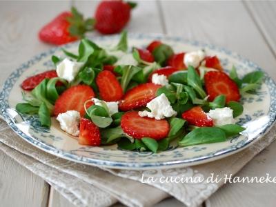 insalata con fragole