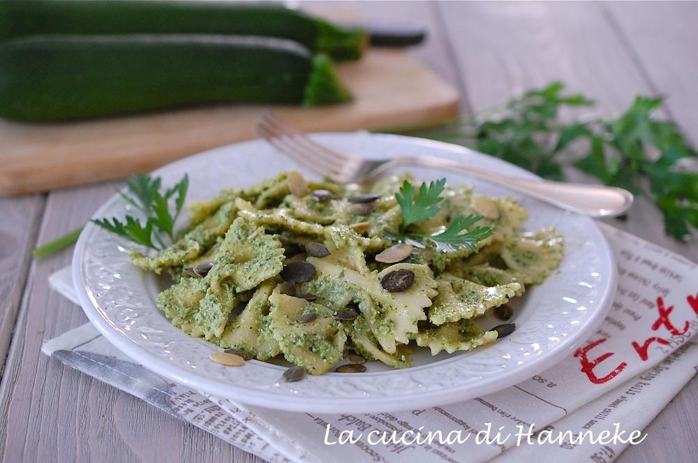 pesto di zucchine grigliate