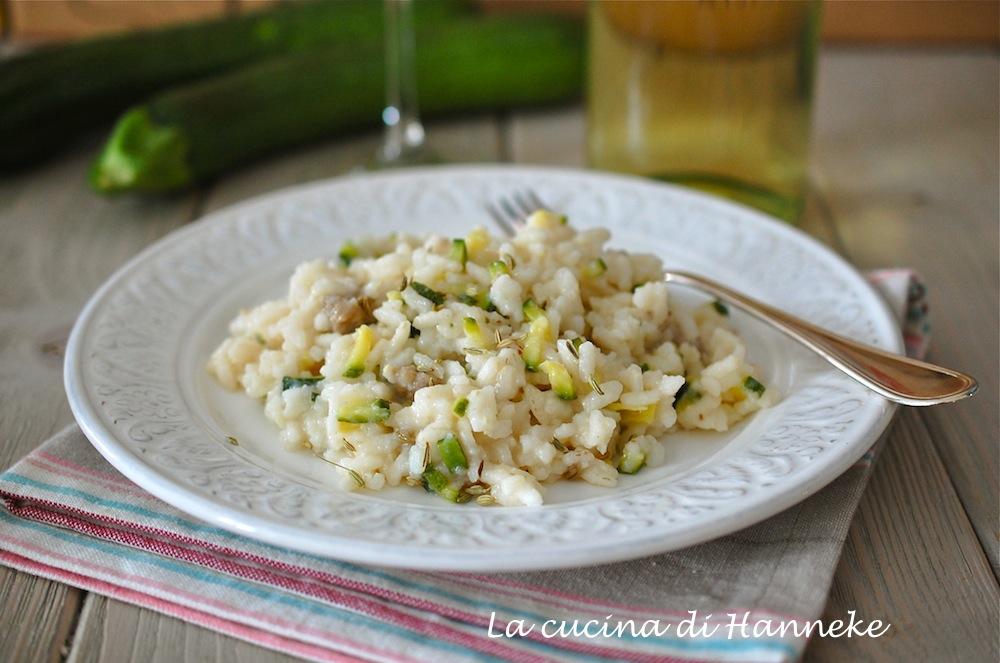Un profumato risotto con salsiccia e zucchine   La cucina di Hanneke