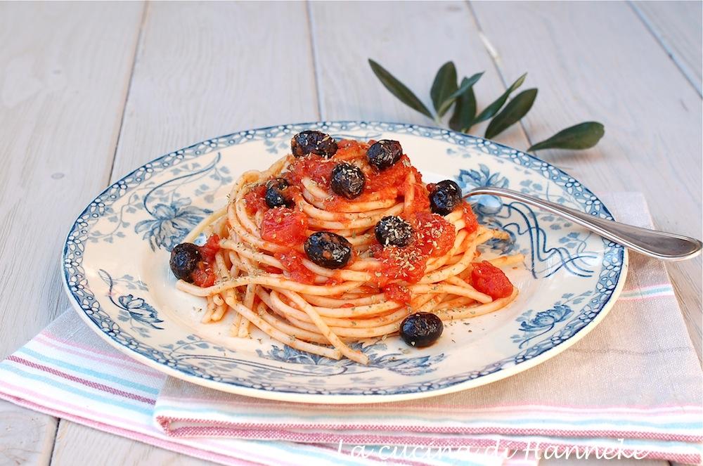 Pasta con olive