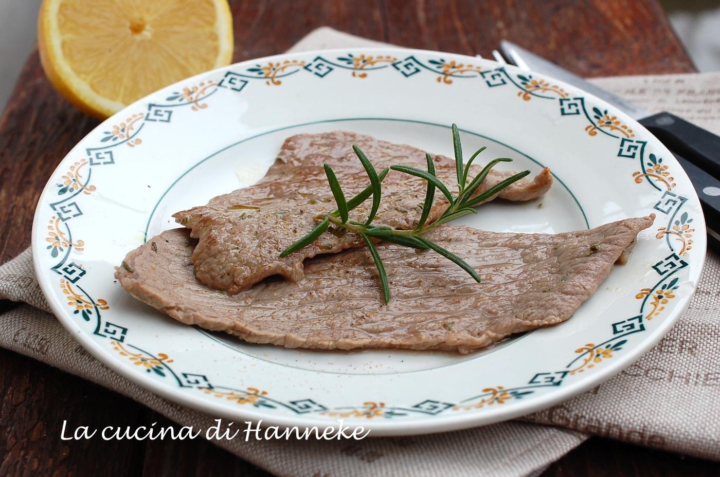 Bistecche al limone e rosmarino