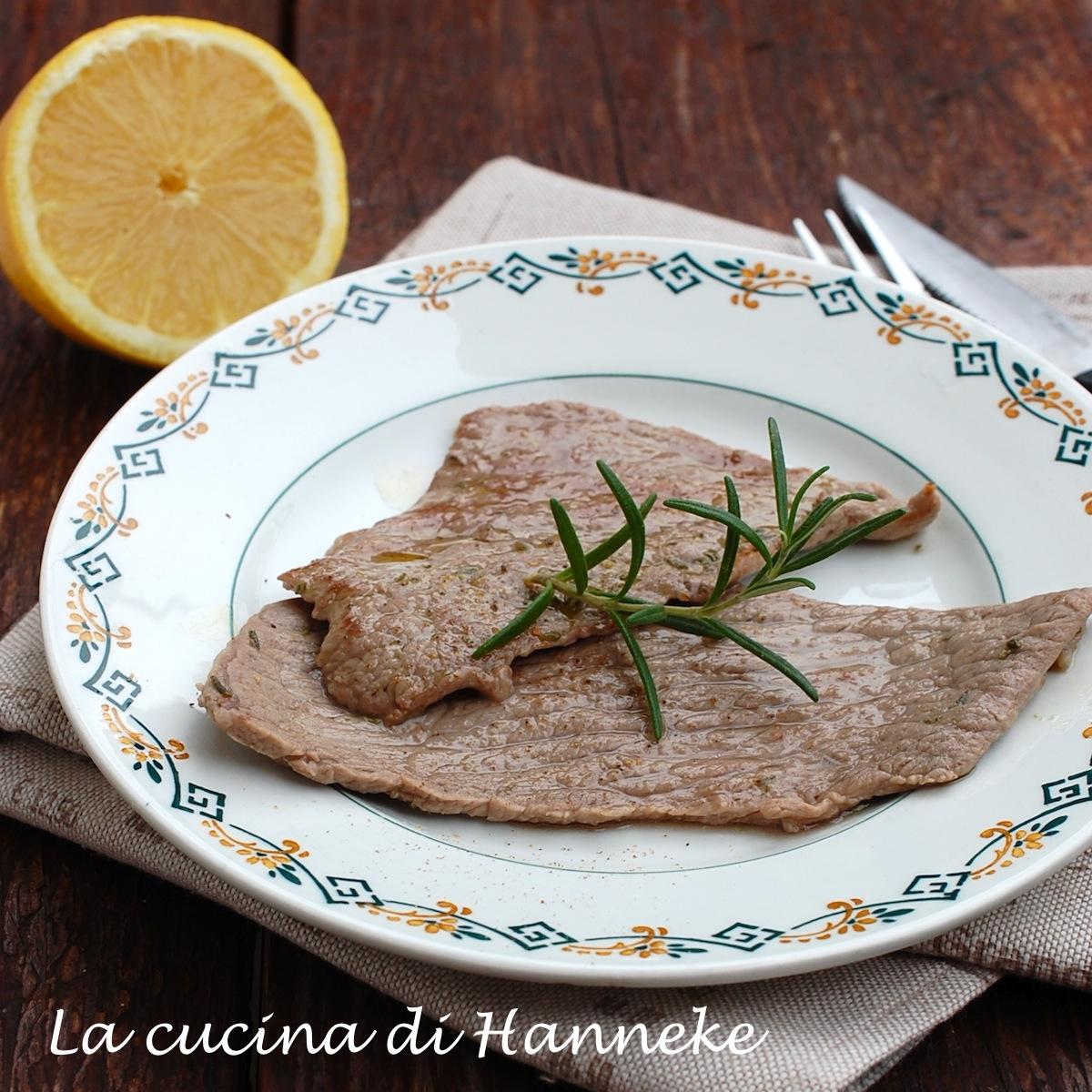 bistecche al limone