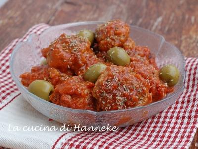 Polpette con olive