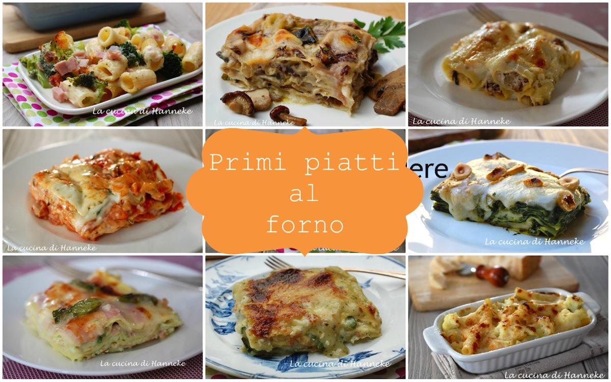 primi piatti al forno raccolta di ricette la cucina di
