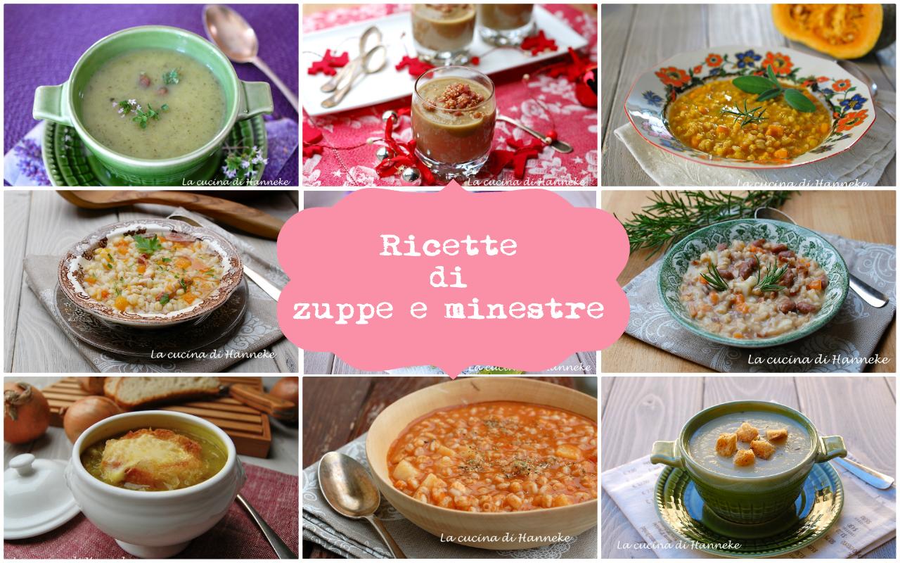 Ricette di zuppe e minestre la cucina di hanneke for Ricette di cucina