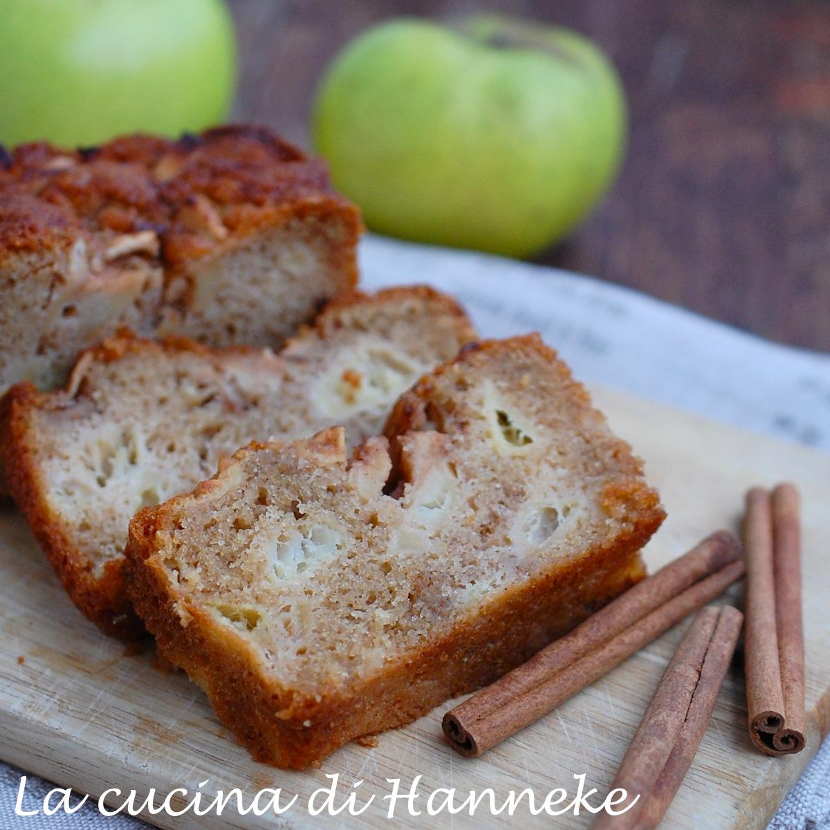 plumcake di mele soffice