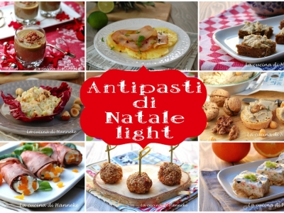 antipasti di natale light