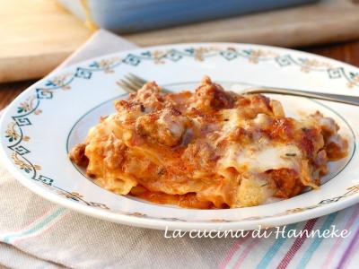 Lasagne al ragù con porcini