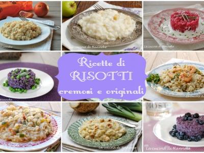 ricette di risotti