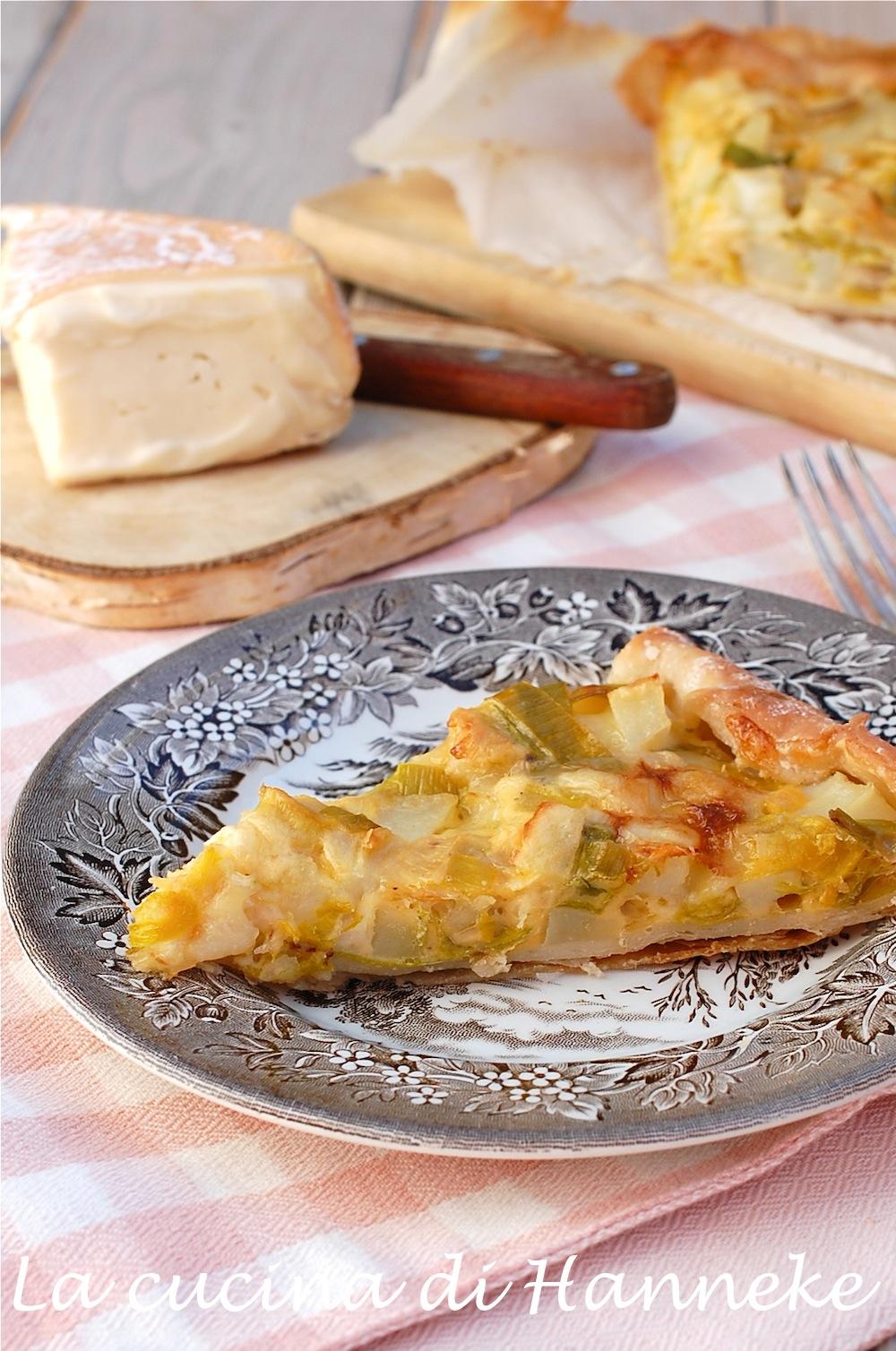Ricette torte salate pasta sfoglia con porri ricette for Torte salate con pasta sfoglia