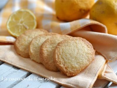 Biscotti al burro senza glutine al limone farina di mais farina di riso