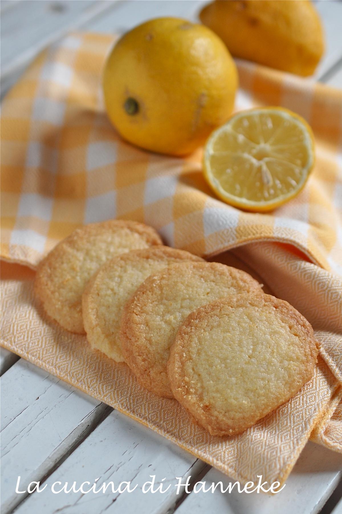 Biscotti al Burro Senza Glutine Profumati al Limone
