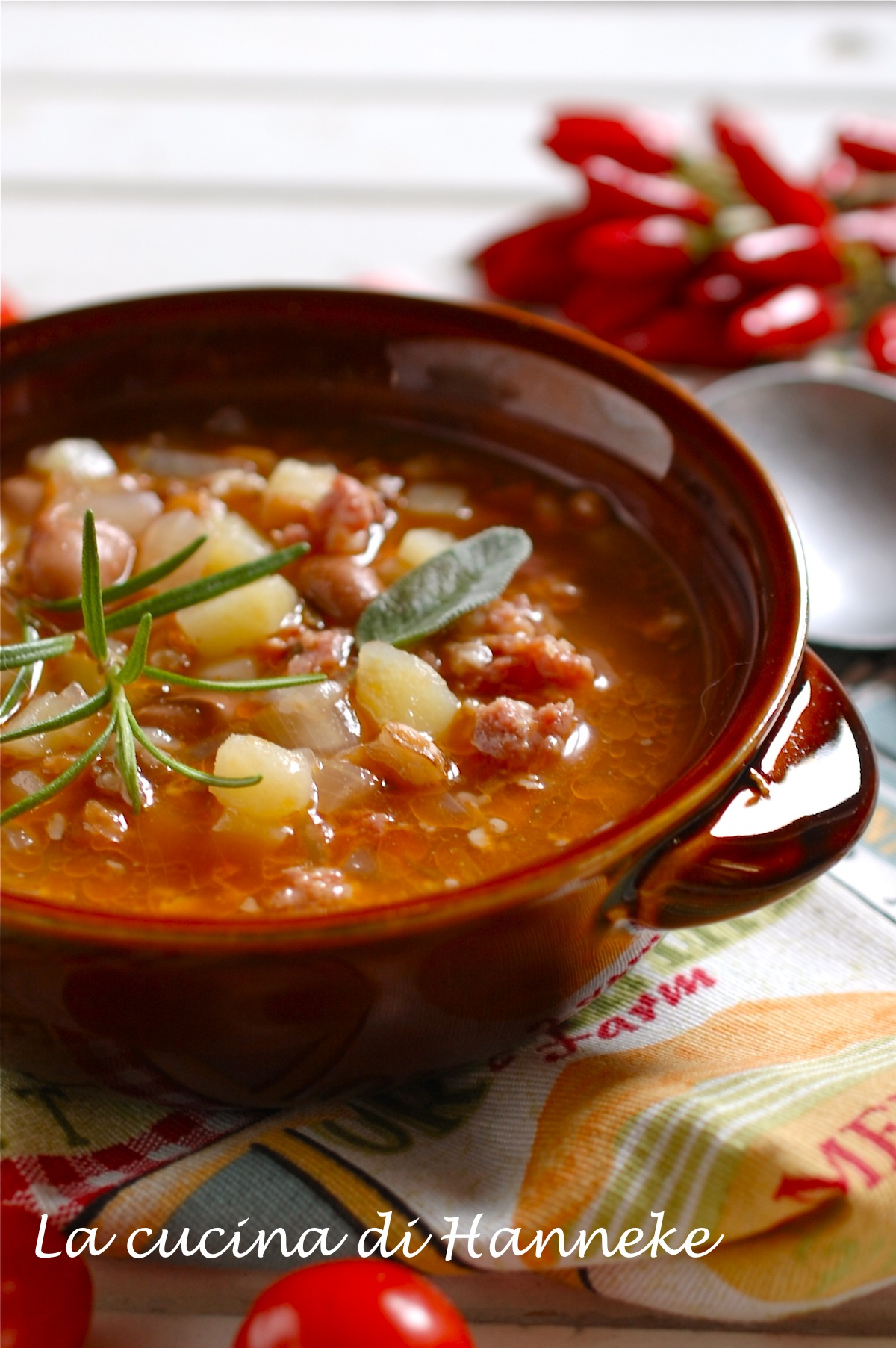 Zuppa con Legumi e Cereali