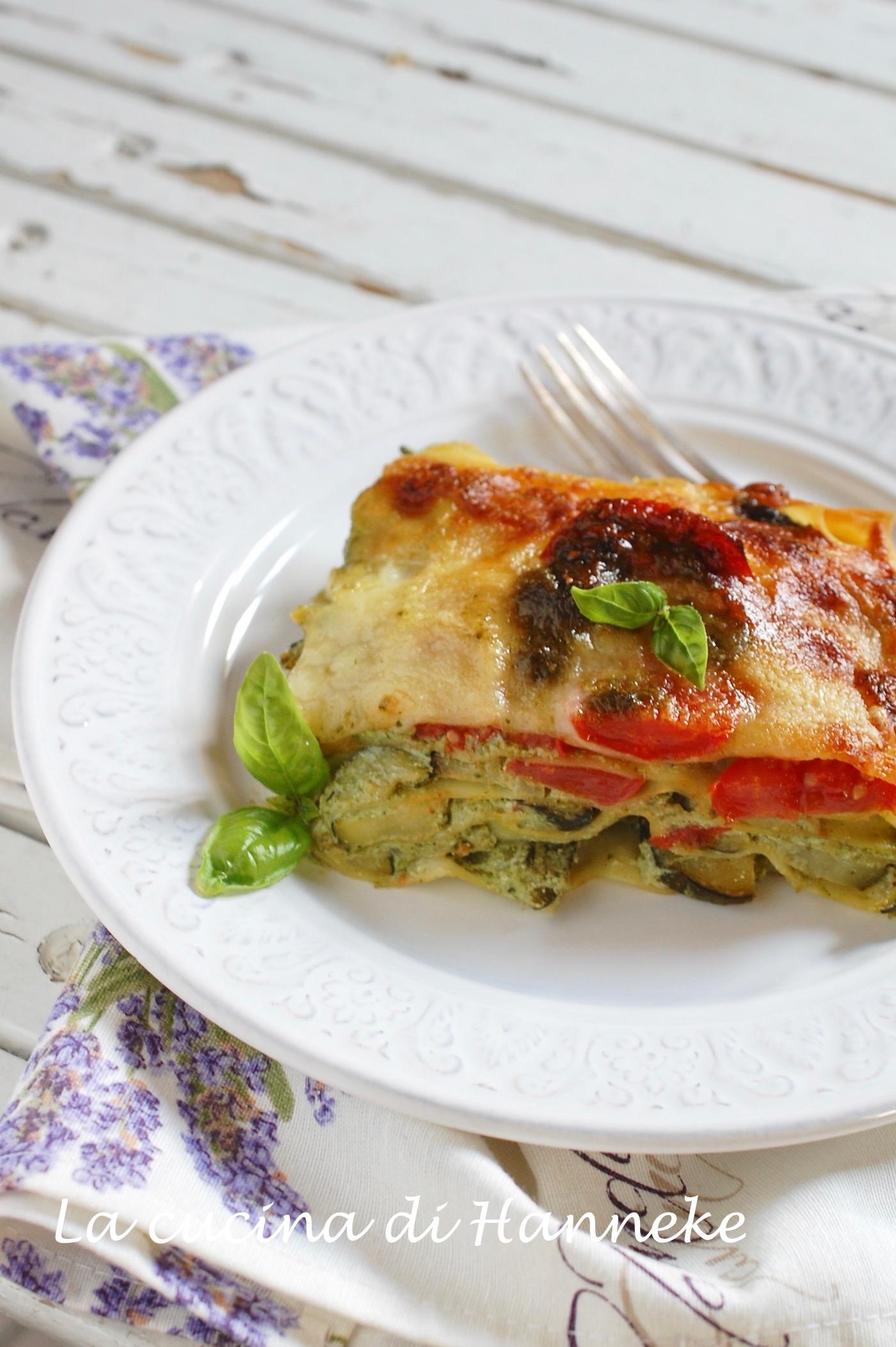 Lasagne con Zucchine, Ricotta e Pomodoro Fresco | Ricetta Estiva