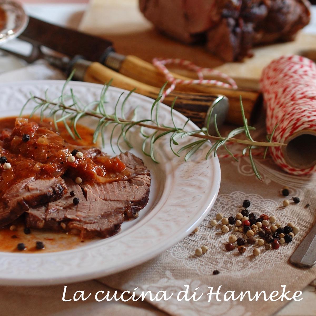 Arrosto di Manzo al Pomodoro | Ricetta Semplice e Gustosa