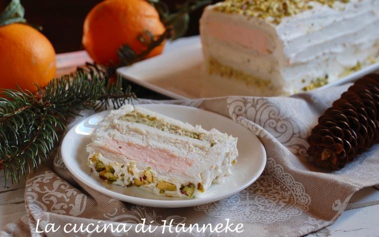 Tronchetto al salmone e pistacchio   Antipasto per le Feste