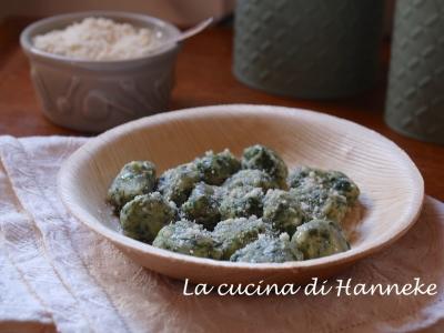 Gnocchi di ricotta e spinaci malfatti vegetariano