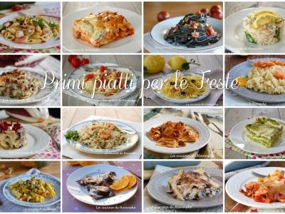 Primi piatti per le Feste, dalle lasagne ai ravioli, dai risotti alla pasta
