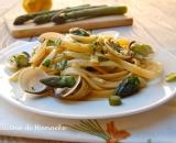 Linguine alle vongole e asparagi