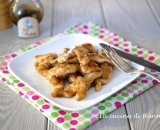 Straccetti di pollo all'aceto balsamico