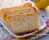Plumcake al limone, soffice e senza burro!