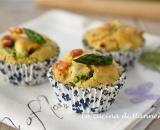 Muffin agli asparagi e pancetta affumicata