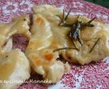 Scaloppine di pollo al limone e rosmarino