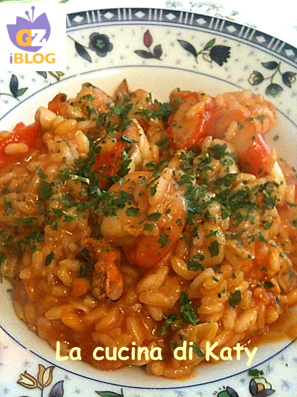 risotto gamberetti e calamari