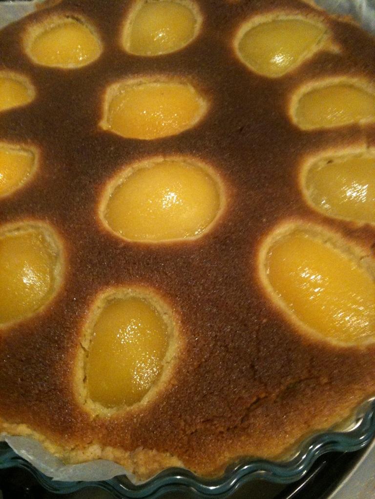 crostata, mandorle