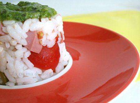 Muffin di riso arcobaleno
