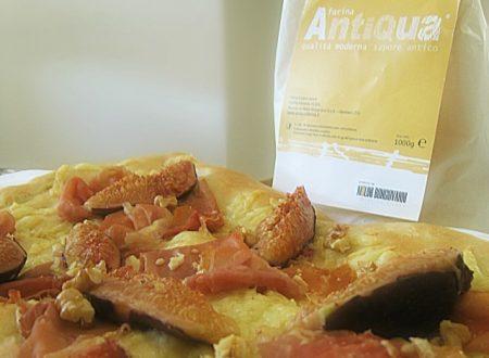 Pizza prosciutto e fichi con noci e…..