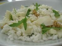 insalata di riso formaggio e pere