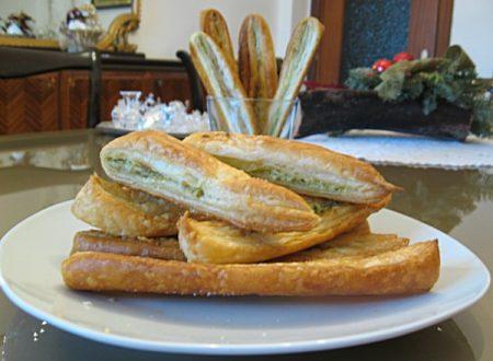 Salatini al pesto e philadelphia