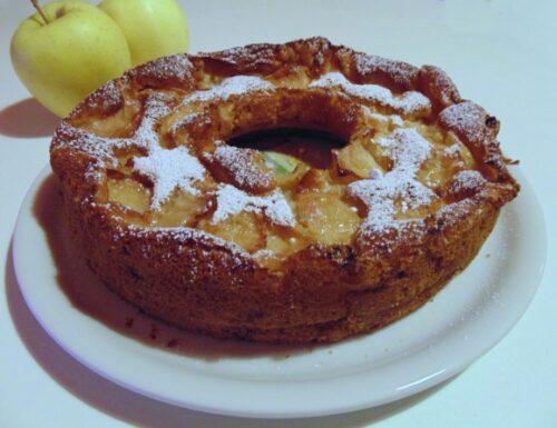 Ciambellone alle mele senza grassi