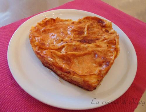 Pasta al forno portofino