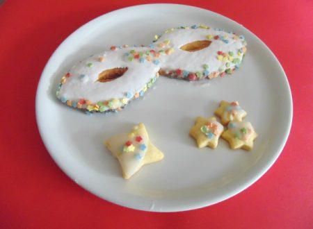 Biscotti mascherati, ricetta carnevale