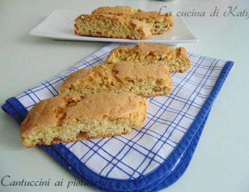 Cantuccini ai pistacchi