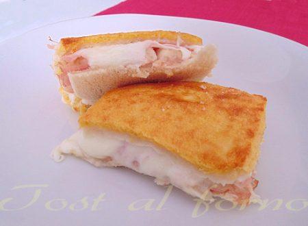 Toast al forno ricetta