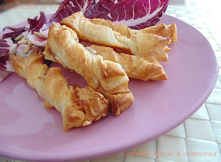 Salatini speck e scamorza | ricetta buffet