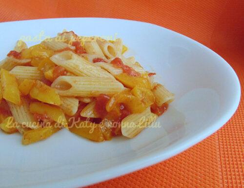Pasta ai peperoni  ricetta leggera