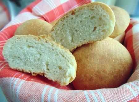 Pane all'olio con esuberi di pasta madre