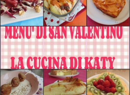 Menu S Valentino