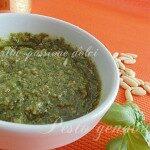 Pesto genovese con e senza aglio
