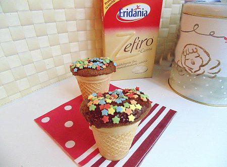 Gela muffin al cioccolato| Ricetta golosa con Zefiro
