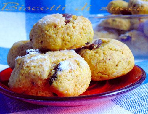 Biscotti alla zucca e uvetta | Ricetta sfiziosa