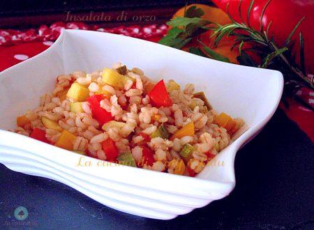 Orzo salad | Primi piatti leggeri ma gustosi