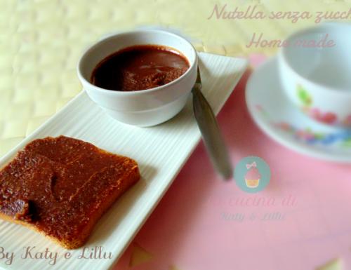 Crema di nocciole senza zucchero |Nutella home made